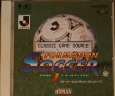 NEW Factory Sealed Formation soccer on J League PC Engine Hu card