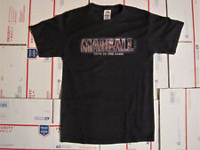 MADBALL BLACK TRUE TO THE GAME LADIES SHIRT SMALL/PETITE SIZE NYHC CRO MAGS