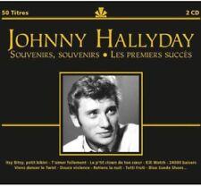 CD de musique en promo pour Pop Johnny Hallyday