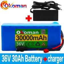 36V 30Ah ebike battery pack 500W high power +42v charger