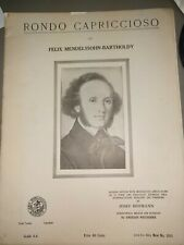 Rondo Capricioso by Felix Mendelssohn-Bartholdy Music Sheets Instructive Edition