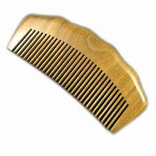 UK Verkäufer! Handarbeit Grün Sandelholz Sandale Holz Haarpflege Kamm 12.2 cm