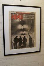 More details for joy division ian curtis death 1980 original vintage framed nme tribute cover