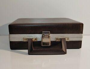 Vintage 1980s BMI Beaux Merzon 16 Cassette Tape Storage Case Holder Carry Case