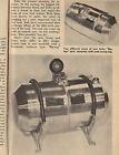 1962 Fuel System Stromberg 97 Carburetor Injection Scta Vtg Moon Tanks Blowers