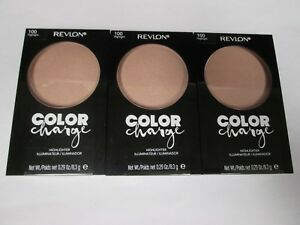 3 REVLON COLOR CHARGE HIGHLIGHTER - #100 HIGHLIGHT - EXP: 8/22 - RR 26559