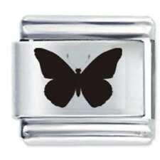 BUTTERFLY * Daisy Charm Fits Nomination Classic Size Italian Charm Bracelet