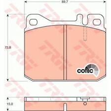 TRW Brake Pad Set, disc brake COTEC GDB242