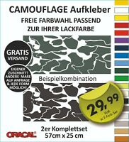Camouflage Aufkleber  Tarnmuster Stealth Fighter Auto Stockcar Flecktarn Deko #4