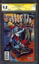 Batman Superman 19 CGC 3X SS 9.8 Jones Harley Quinn Variant Batmobile