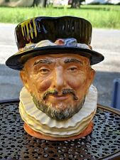 Royal Doulton Toby Character Jug Beefeater D6206 Made in England 1946 Large