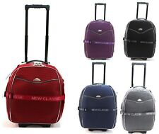 Ryanair Easy jet 2 Wheel Expandable Cabin Hand Luggage Suitcase Trolley Case Bag