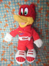 "Port Aventura  Woody Woodpecker Soft Plush Toy  11"" approx VGC"