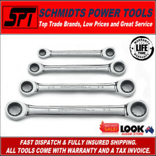 GEARWRENCH SAE RATCHETING WRENCH SET 4 PIECE 12 PT SPANNER SET IMPERIAL 9240D