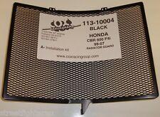 Radiator Guard (COX RACING) Honda CBR 600RR F4/F4i 99-07 / Black- PART:113-10004