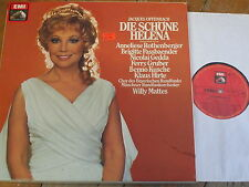 1C 157-45 832/33 Offenbach Die Schone Helena / Rothenberger / Mattes 2 LP box