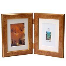 6x4 en bois photo cadre photo marron avec motif unique vertical ou horizontal