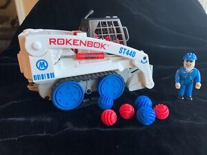 Rokenbok System wireless RC Skip Track precision front-end loader ST440.