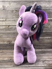 "BAB Twilight Sparkle My Little Pony Plush Unicorn Pink Purple 15"" Stuffed Animal"