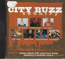 CD album: Compilation: City Buzz Country. Circuit City. W