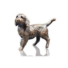 More details for bronze cockerpoo dog sculpture - ltd ed 250.