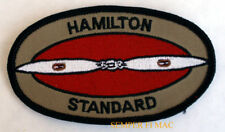 HAMILTON STANDARD HAT PATCH ENGINE PLANE PIN UP PILOT CREW A & P WING PROPELLOR