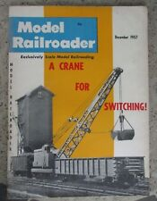 Model Railroader December 1957 A Crane For Switching