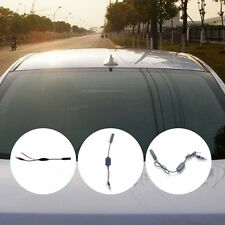 12V Car FM Radio Aerial Antenna Signal Reception Amp Amplifier Booster Universal