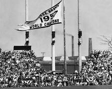 Braves MILWAUKEE COUNTY STADIUM Glossy 8x10 Photo 1957 World Series Champs Print