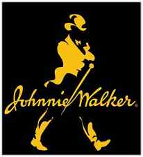 "Johnnie Walker Scotch Whisky Car Bumper Window Locker Sticker Decal 4""X5"""