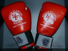 SOUTH BEACH BOXING 8oz LEATHER GLOVES