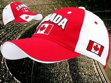 """Canada Kappe """"edel bestickt""""  + neu + Fan Cap  NEUWARE 100 % Baumwolle + Kanada"""