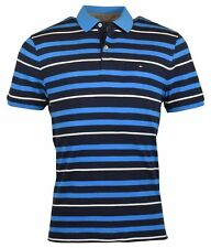 Tommy Hilfiger Men's Short Sleeve Classic Fit Knit Polo Shirt - L - Navy/Blue