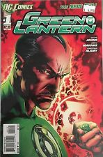 Green Lantern # 1 Red Variant  2nd Print The New 52! DC Comics 2011 VF#