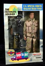 1:6 US Special Forces Ultimate Soldier Desert Storm Toys to Go Exclusive Fig MIB