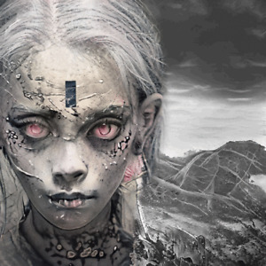 ZOMBAE The Best Fans Zombie - Digital NFT Blockchain Art Card - Mint #2584 RARE!