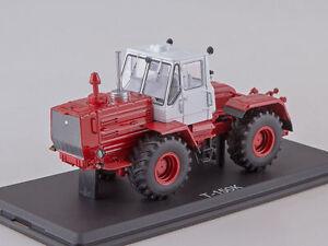 T 150 K tractor grey-red SSM8011 1:43