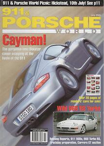 911 & PORSCHE WORLD 136 2005 968 TURBO RS 380bhp 911 CARRERA RSR 2.8 993 RSR 3.8