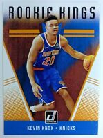2018-19 Panini Donruss Rookie Kings Kevin Knox RC #22, New York Knicks
