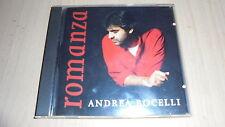 CD: ANDREA BOCELLI: ROMANZA. INSIEME SRL 1997 PRIMA STAMPA ASSOLUTA!