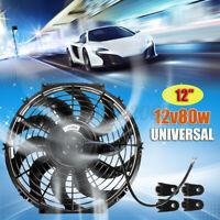 Universale 12'' Auto Ventola di Raffreddamento Per Radiatore Elettrico 12V 80W