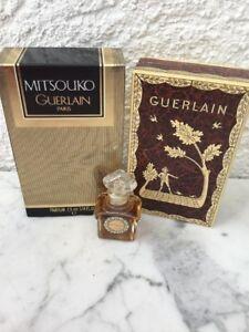Guerlain Mitsouko Parfum 7,5 ml Splash OVP Rarität