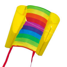 CIM Kinder-Drachen Beach Kite Rainbow Flugdrachen drachenfliegen inkl. Schnur