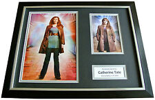 CATHERINE TATE Signed FRAMED Photo Autograph 16x12 Display DOCTOR WHO & COA