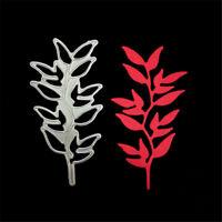Branch Leaves Metal Cutting Dies for DIY Scrapbooking Album Paper Cards Decor##