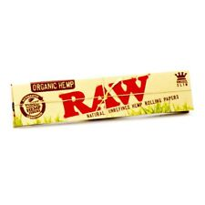 Raw Taille Extra Large Fins Chanvre Biologique Papier à Rouler à Cigarette