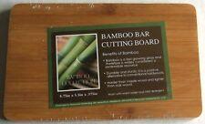 """BAMBOO BAR CUTTING BOARD  8.75"""" x 5.5"""" x .375"""""""