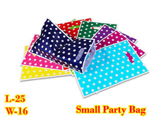 Polka Dot Small Bags Printed Post Poly Plastic Coloured Strong Seal All Sizes