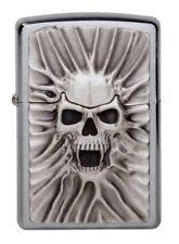 """ZIPPO """"SKULL SCREAM OF SAND"""" 3D TRICK LIGHTER / 1300120 ** NEW IN BOX **"""