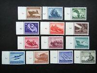 Germany Nazi 1944 Stamps MINT Hero Memorial Day WWII Third Reich German Deutschl
